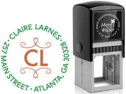More Than Paper - Custom Self-Inking Stamps (Larnes)