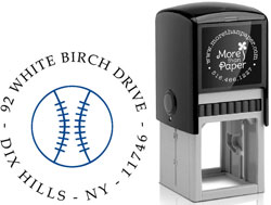 More Than Paper - Custom Self-Inking Stamps (Baseball)