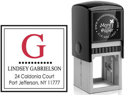 More Than Paper - Custom Self-Inking Stamps (m255)