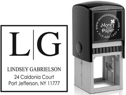 More Than Paper - Custom Self-Inking Stamps (m257)