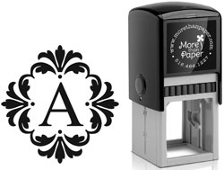 More Than Paper - Custom Self-Inking Stamps (m259)