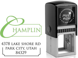 More Than Paper - Custom Self-Inking Stamps (m261)
