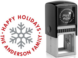 Holiday Address Stamps