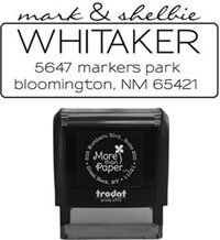 More Than Paper - Custom Self-Inking Stamps (m300)