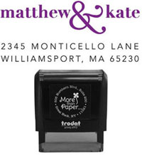 More Than Paper - Custom Self-Inking Stamps (m302)
