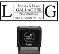 More Than Paper - Custom Self-Inking Stamps (m307)