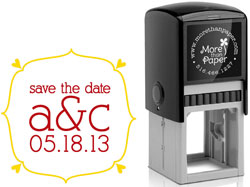 Save The Date Self-Inking Stamps