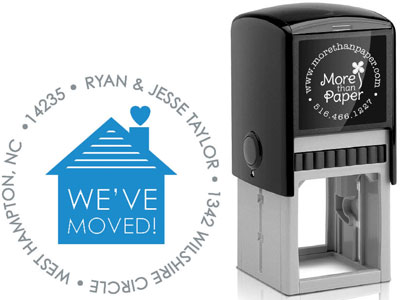 More Than Paper - Custom Self-Inking Stamps (We've Moved)