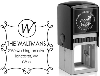 More Than Paper - Custom Self-Inking Stamps (m253)