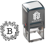 Mason Row - Square Self-Inking Stamp (Bennet)