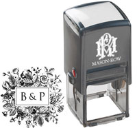 Mason Row - Square Self-Inking Stamp (Barb)