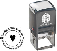 Mason Row - Square Self-Inking Stamp (Caroline)