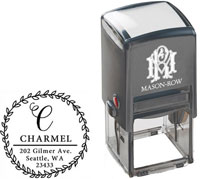 Mason Row - Square Self-Inking Stamp (Charmel)