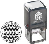 Mason Row - Square Self-Inking Stamp (Chloe)