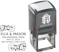 Mason Row - Square Self-Inking Stamp (Ella)