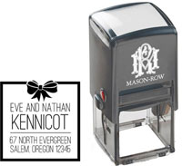 Mason Row - Square Self-Inking Stamp (Eve)