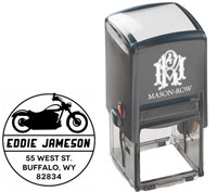 Mason Row - Square Self-Inking Stamp (Jameson)