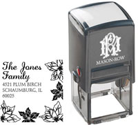 Mason Row - Square Self-Inking Stamp (Jones)
