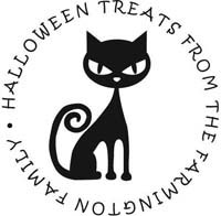 Noteworthy Collections - Custom Self-Inking Address Stampers (Halloween Cat)