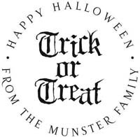Noteworthy Collections - Custom Self-Inking Address Stampers (Trick or Treat)