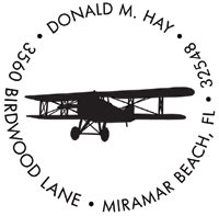 Noteworthy Collections - Custom Self-Inking Address Stampers (Bi-Plane)