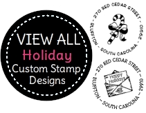 PSA Essentials - Custom Holiday Stampers