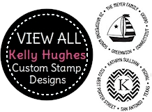 PSA Essentials - Custom Address Stampers<br>Designs by Kelly Hughes