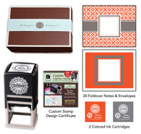 Three Designing Women - Custom Stamper Desk Set Gift Certificate (Emma)