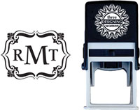 Three Designing Women - Custom Self-Inking Stamp #CS-3301