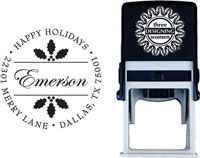 Three Designing Women - Custom Self-Inking Stamp #CS-3514