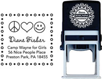 Three Designing Women - Custom Self-Inking Stamp #CS-9102