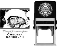 Three Designing Women - Custom Self-Inking Stamp #POPH7006 (Photo)