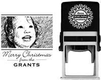 Three Designing Women - Custom Self-Inking Stamp #POPH7008 (Photo)