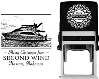 Three Designing Women - Custom Self-Inking Stamp #POPH7009 (Photo)