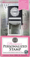 Three Designing Women - Custom Stamper Gift Certificate (CERTStamp)
