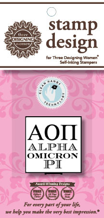 Alpha Omicron Pi (AOP - Greek) Mix n Match Clip Packs by Three Designing Women