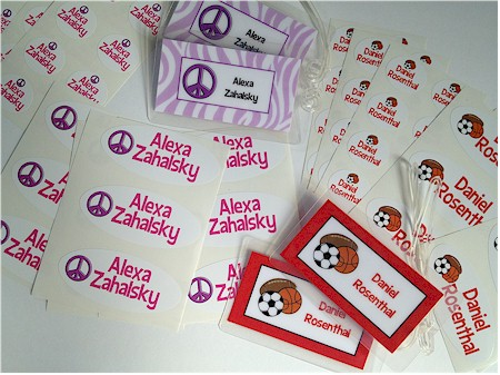 Personalized ID Tags & Waterproof Labels (Back to School)