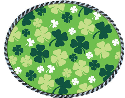 St. Patricks Day 2014 1 Belt Buckles by EA Designs