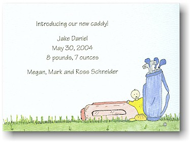 Blue Mug Designs Birth Announcement - Our Littlest Pro