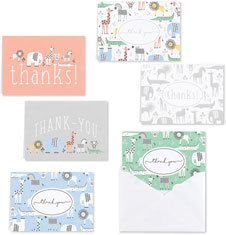 Baby Animals Thank You Set by Masterpiece Studios