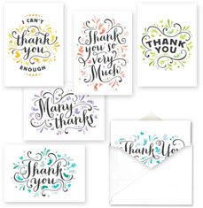Simply Shapes Thank You Set by Masterpiece Studios