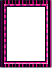 Imprintable Blank Stock - Ooh La La Letterhead