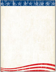 Imprintable Blank Stock - Faded Glory Letterhead