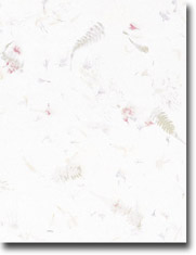 Imprintable Blank Stock - Botanical Letterhead by Masterpiece Studios