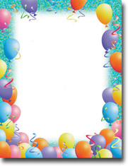 Imprintable Blank Stock - Party Letterhead by Masterpiece Studios
