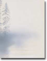 Imprintable Blank Stock - Morning Mist Letterhead by Masterpiece Studios