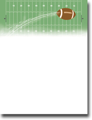 Imprintable Blank Stock - Touchdown Letterhead by Masterpiece Studios