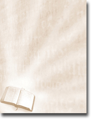 Imprintable Blank Stock - Bible Letterhead by Masterpiece Studios