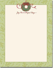 Imprintable Blank Stock - All Good Things Letterhead by Masterpiece Studios