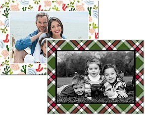 Holiday Photo Mount Cards